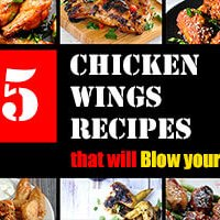 15 Chicken Wings Recipes that Will Blow your Mind
