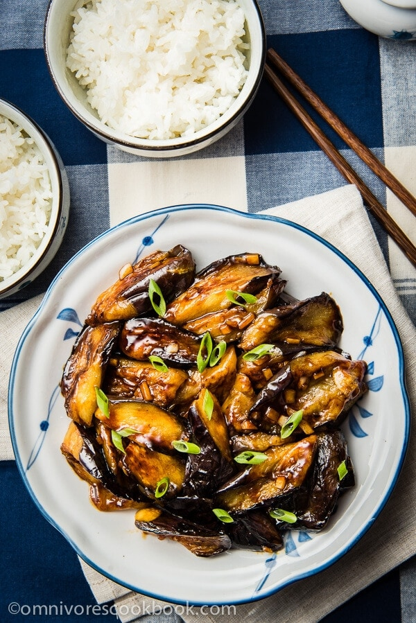 Chinese Eggplant with Garlic Sauce (红烧茄子)