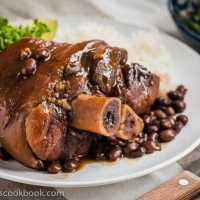 Braised Pork Shank with Black Beans