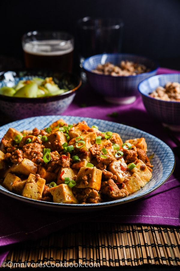 Authentic Mapo Tofu (麻婆豆腐)