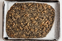Quinoa Sesame Brittle Cooking Process | omnivorescookbook.com