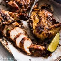 Grilled Chicken Breast with Black Bean Sauce