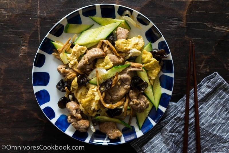 Real-Deal Moo Shu Pork (木犀肉)