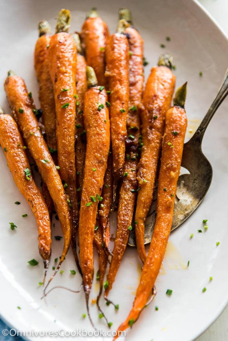 Miso Glazed Carrots