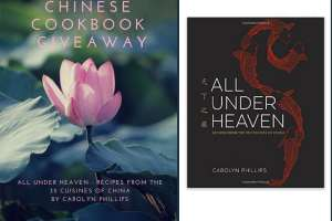 Chinese Cookbook All Under Heaven Giveaway