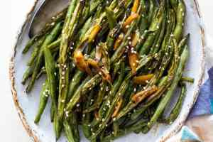 Try using this method to cook green beans for Thanksgiving this year and say goodbye to dull tasting side dishes!