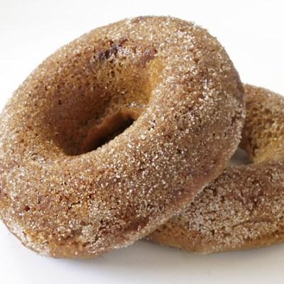 Oven Baked Spelt Donuts