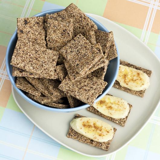 Banana Hemp Crackers