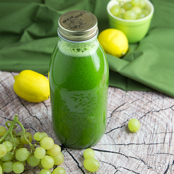 Fermented Green Grape Lemonade | Om Nom Ally