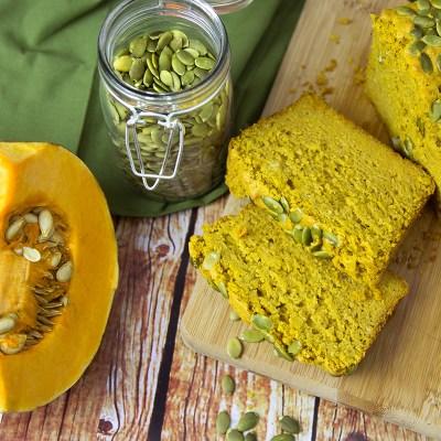 Spicy Roasted Pumpkin Bread + Home-made Savoury Pumpkin Puree