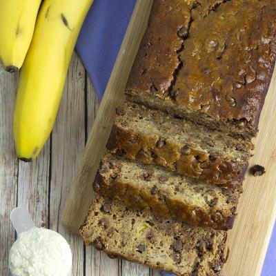 Recipe Redux: Choc Chip Protein Banana Bread