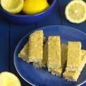 Pucker Up Lemon Coconut Protein Bars