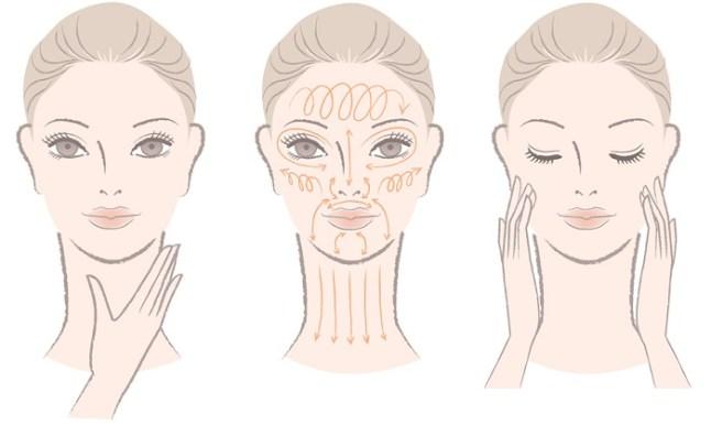 face-massage-illustration