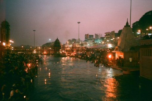 The night puja at Haridwar, where thousands of candles are sent down the Ganges was one of those many amazing Indian moments that weren't on a bucket list
