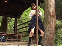 野外発情擦り付けオナニー物の名作「帰宅まで我慢できない野外アクメ」の続編が登場!