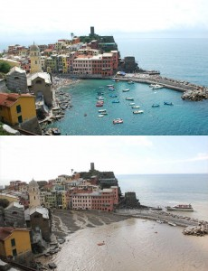 Cinque Terre, Vernazza Flooding:  Before and after photos and videos  (1/2)