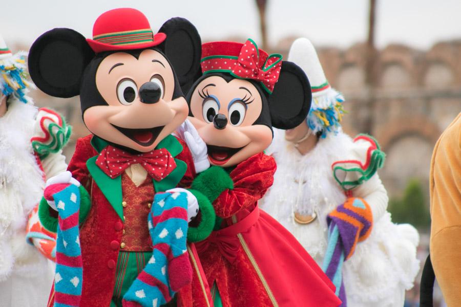 Perfect Christmas Mickye&Minnie