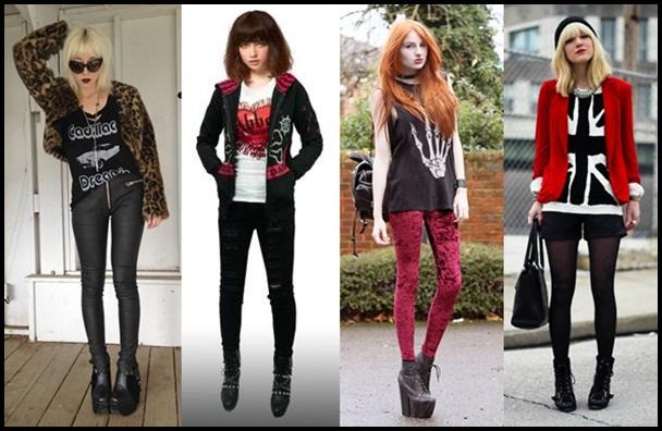 ロック女子がアツい?服装や髪型!人気ファッションブランドまとめ1