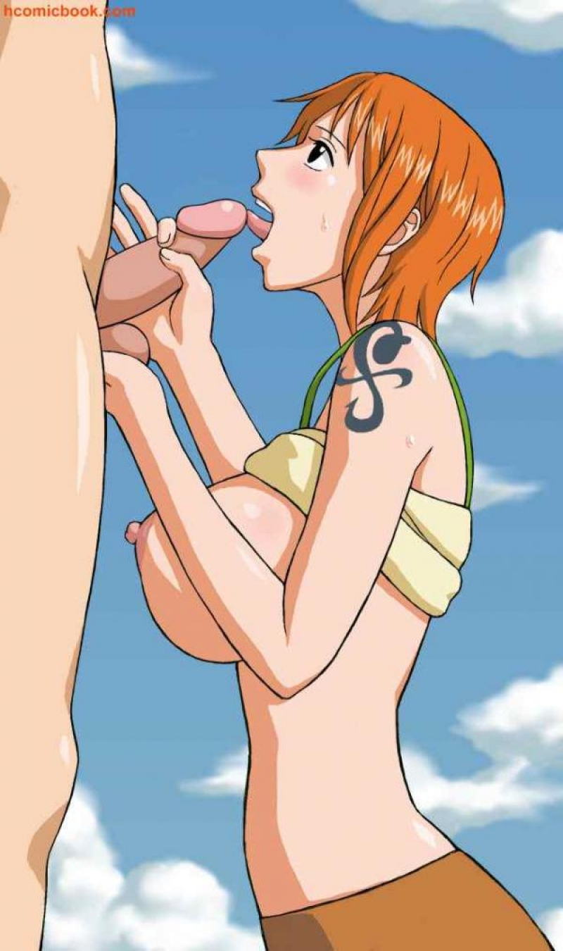 one piece luffy and nami hentai