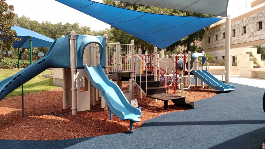 The playground at Shriners Hospital For Children