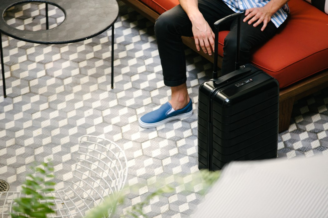 AWAY SUITCASE: UPGRADE TO SMART LUGGAGE