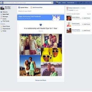 Usuarios de Facebook que compartieron su situación sentimental recibirán mensaje con felicitaciones