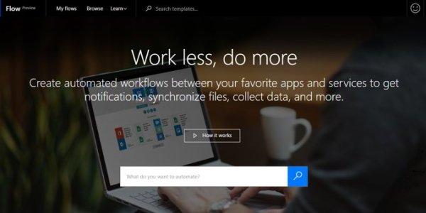 Flow, la apuesta de Microsoft para competir con IFTTT
