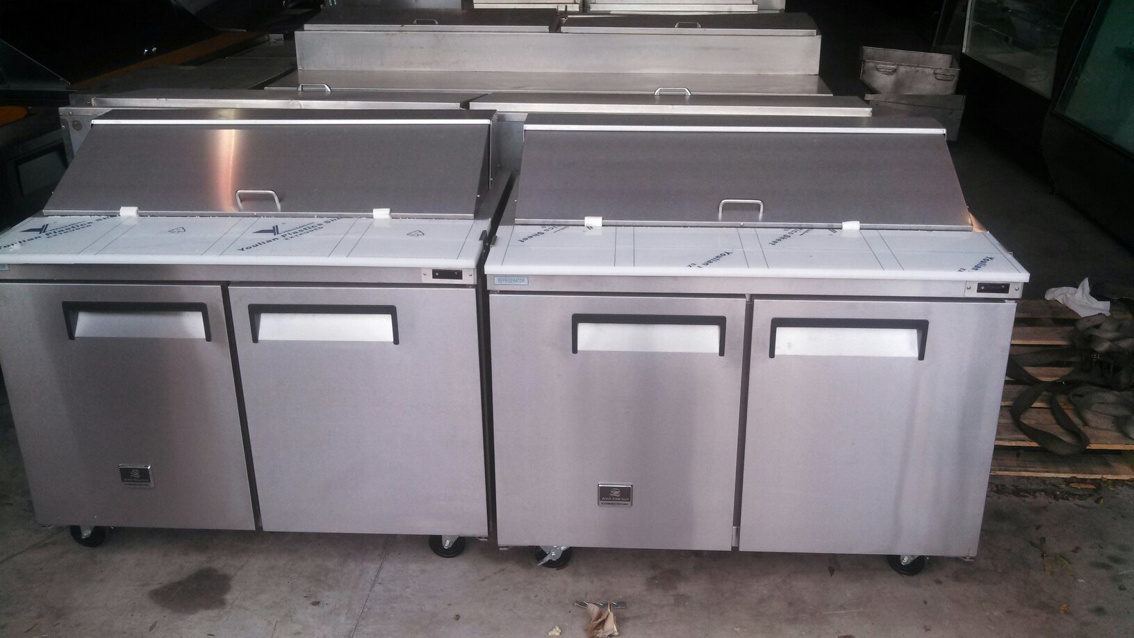refrigerated prep table liquidation true blue air etc must go kitchen prep tables Refrigerated Prep Table Liquidation True Blue Air etc MUST GO
