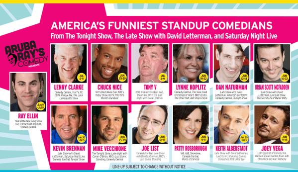 Aruba Comedy 6/9-7/9