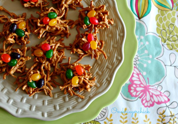 Birds Nests Treats {Onekriegerchick.com}