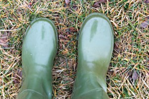rain boots {onekriegerchick.com}