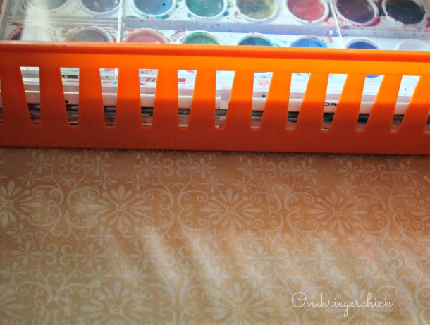 Personalized drawer liner {Onekriegerchick.com}