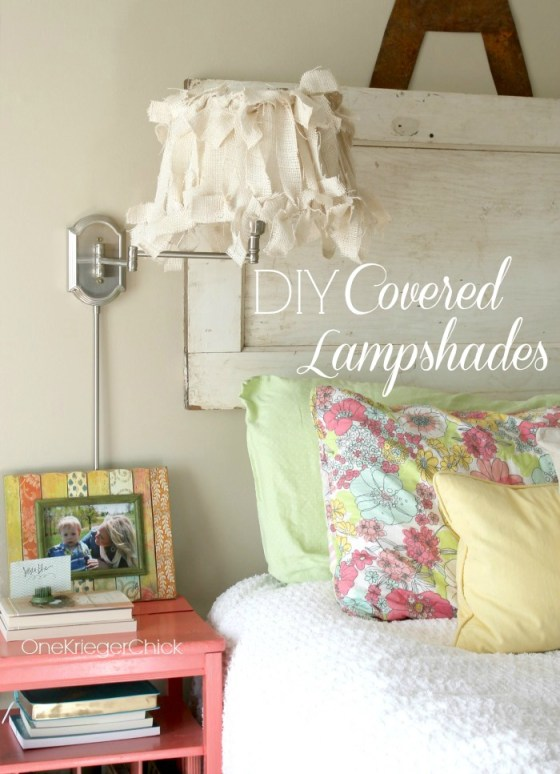 DIY-Burlap-Covered-Lampshades