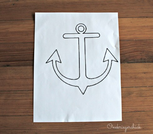 anchor pattern {Onekriegerchick.com}