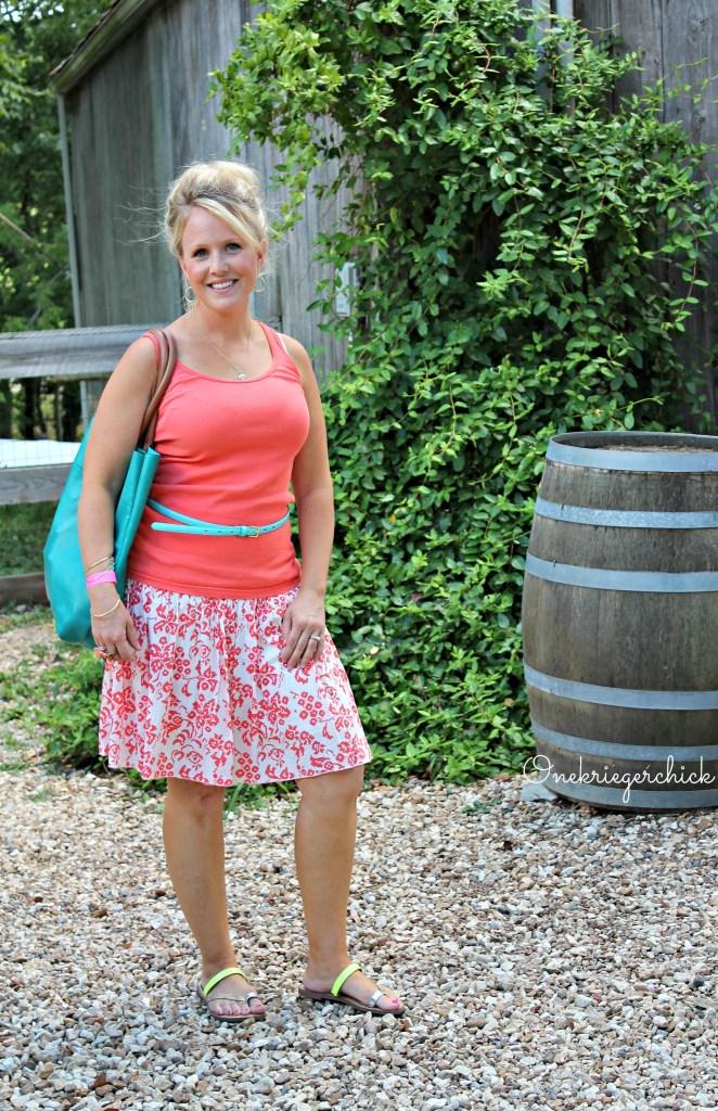 Summer brights {Onekriegerchick.com}