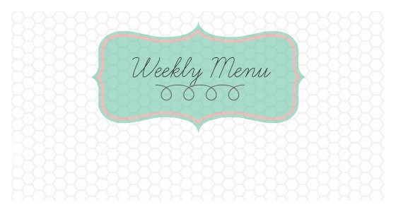 Weekly Menu slider