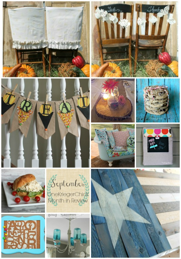 September Month in Review at OneKriegerChick
