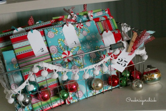 Holiday Book Advent- What a fun tradition!