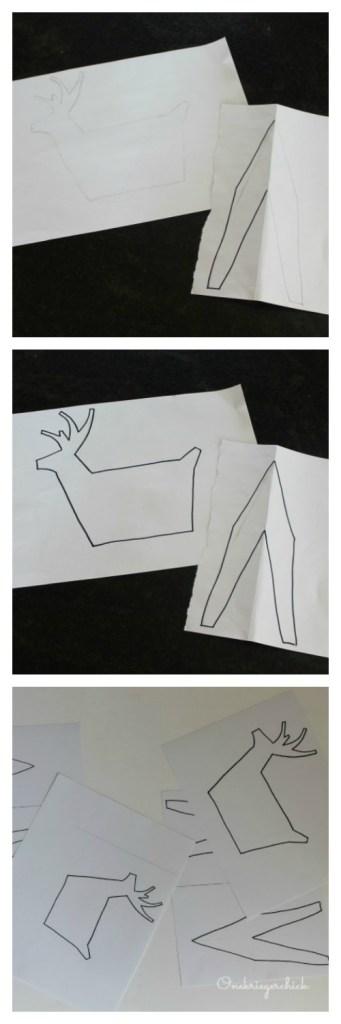 Making a 3-D Deer Stencil