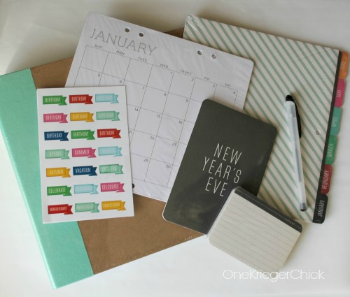 Michaels Recollection Calendar Kit...the perfect holiday gift!