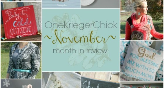 slider OneKriegerChick November Month in Review