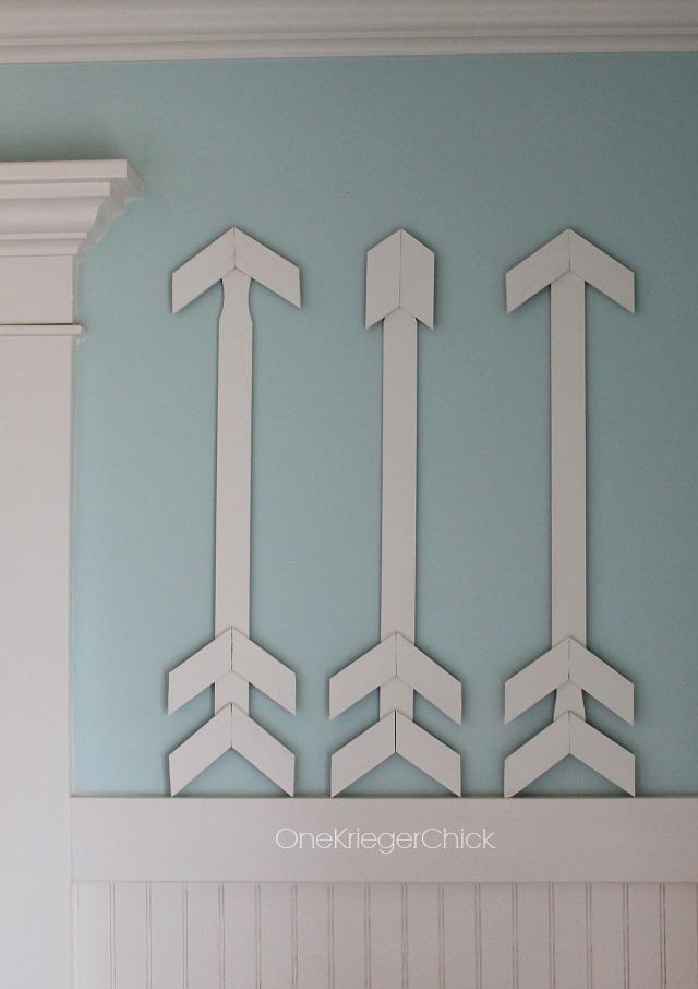 DIY-Paint Stick Arrows