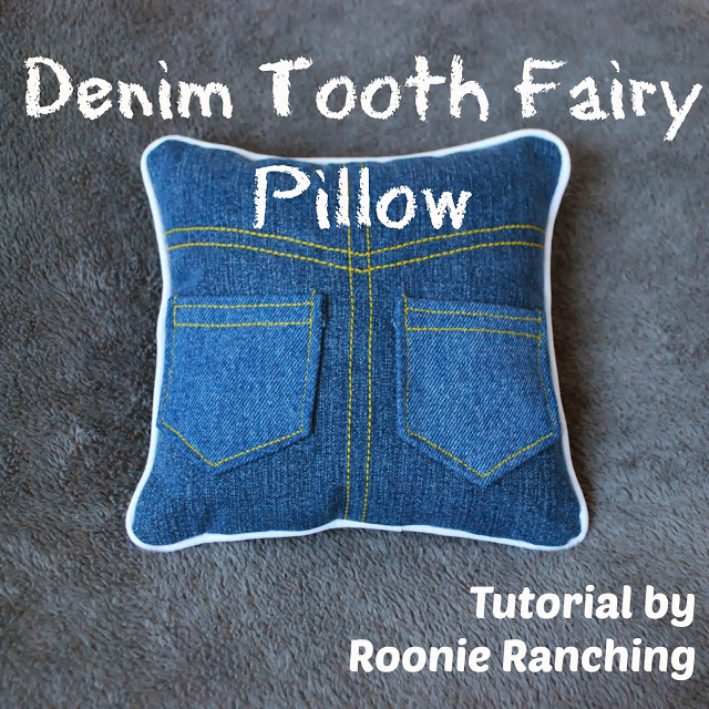 Denim Tooth Fairy Pillow