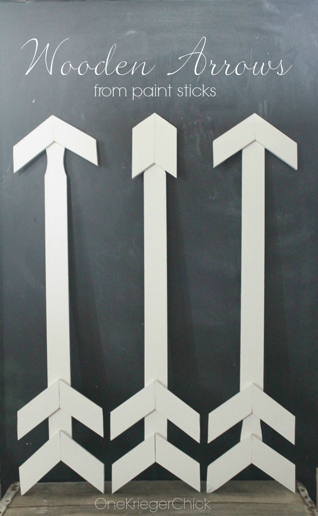 Wooden-Arrows-from-paint-sticks