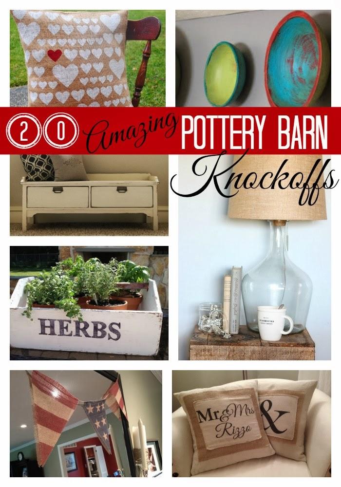 20 pottery barn knockoffs