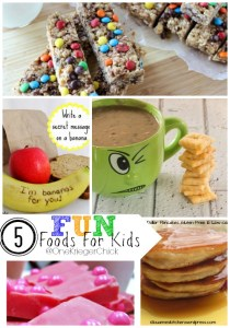 5 Fun Foods For Kids