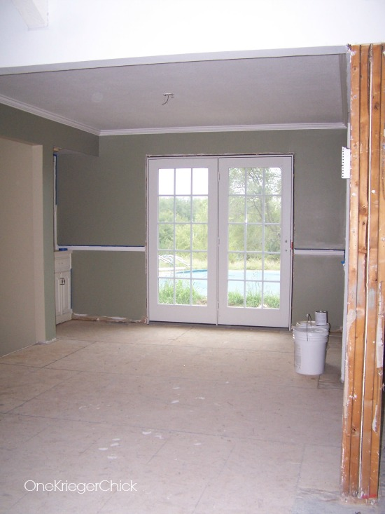 Dining Room with Paint