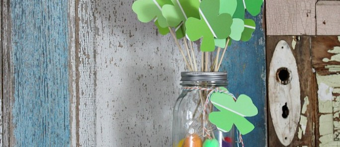 Create a Lucky Clover bouquet {15 minute craft}