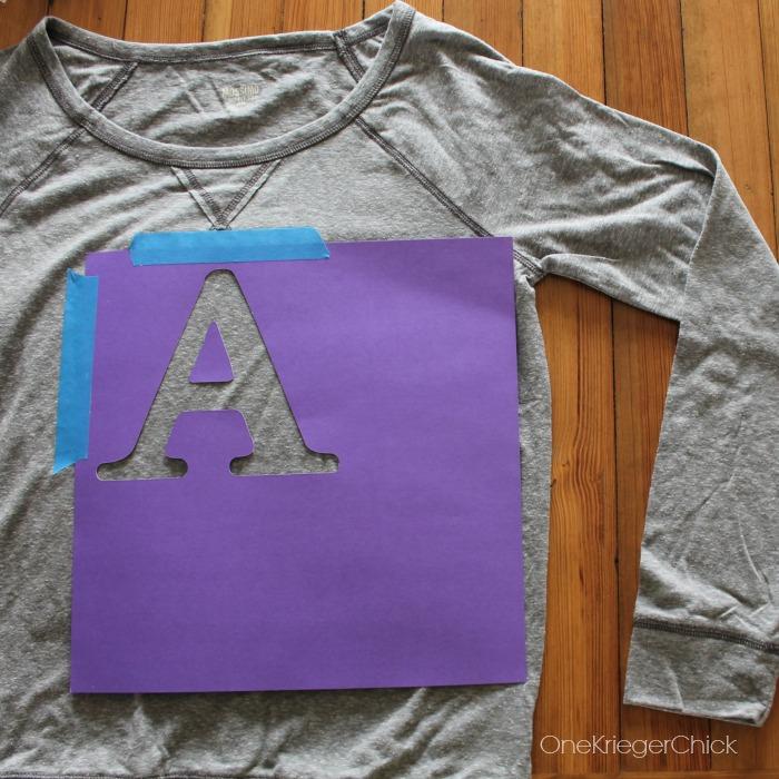 stencil-initial-tee