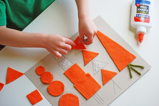 Carrot shapes printable